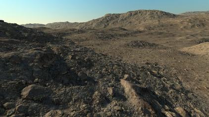 Naked terrain